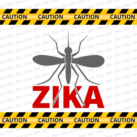 Caution of mosquito icon