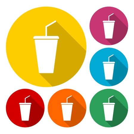 Vector soda cup Illustration