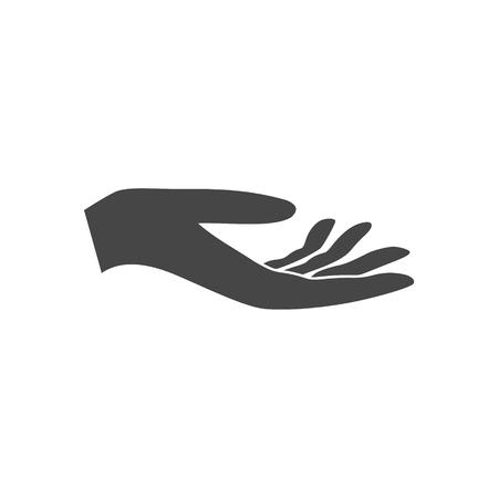 Illustration d'une offre de main Banque d'images - 70188178