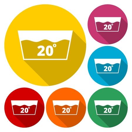 washhouse: Wash icon at 20 Illustration