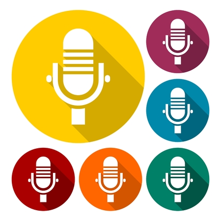 Microphone Icon, Microphone Icon Vector