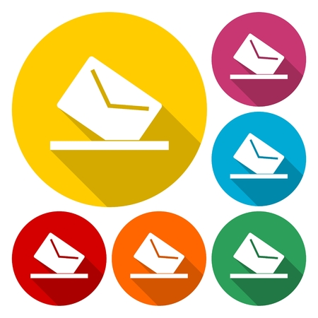Mail box icon for web and mobile
