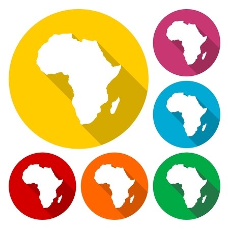 Africa Map, Africa Continent Icon