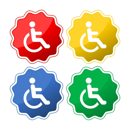 Disabled Icon Illustration