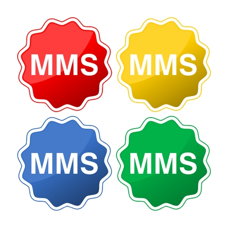 Mobile mms text message icons