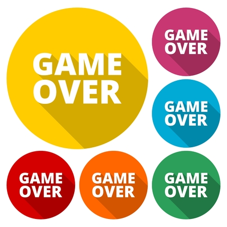 kindy: Game over word- icon