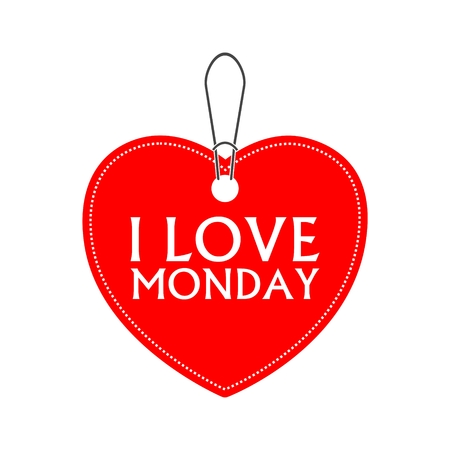 I love monday, heart bargain
