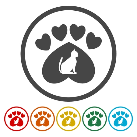 nursling: Cat paw Illustration