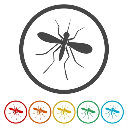 Mosquito icon Illustration