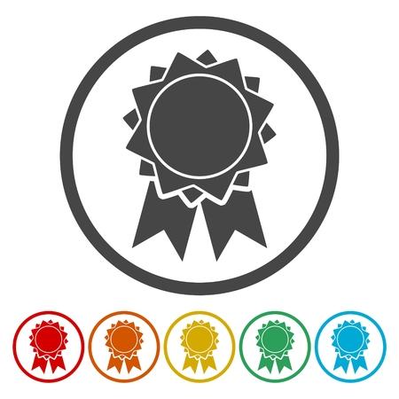 Vector badge icon
