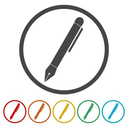 Pen Icon Illustration