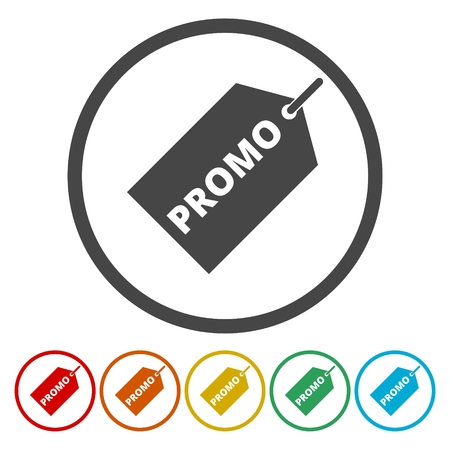 Price tag vector - promo icon