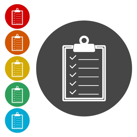 pad: Checklist clipboard icon.