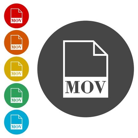 mov: MOV file icon