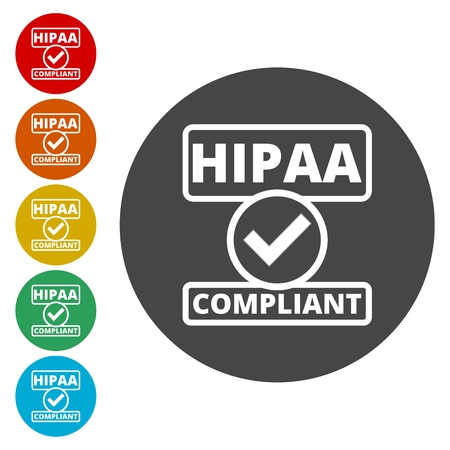 compliant: HIPAA badge - Health Insurance Portability and Accountability Act