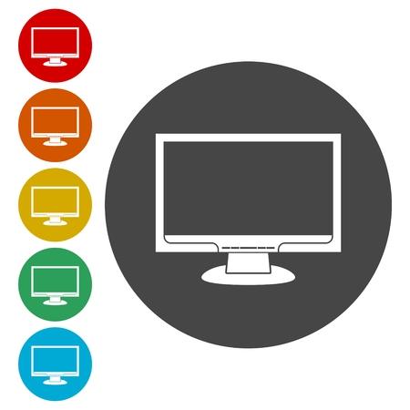 flat screen tv: Monitor icon