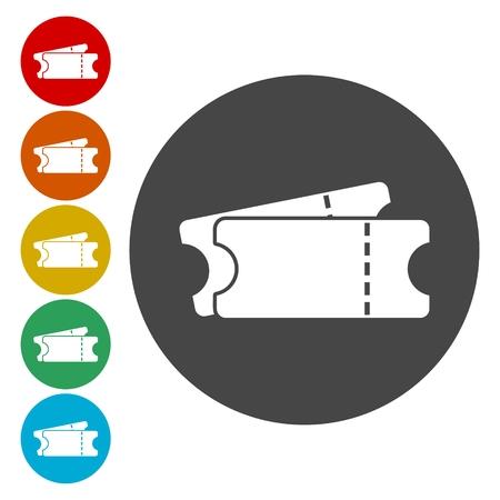 Simple Ticket Icon