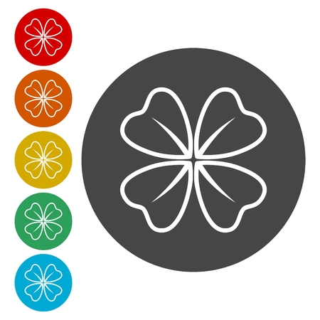 trifolium: Four Leaf Clover icon