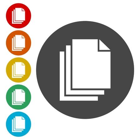css: Document icons set