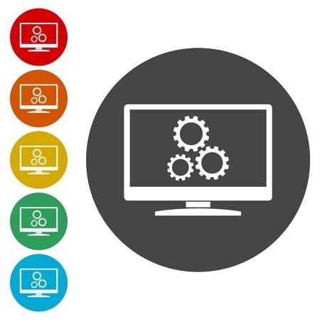 Searching engine optimization design, Seo icon
