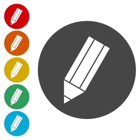 implement: Pencil Icon, Pencil Icon Vector