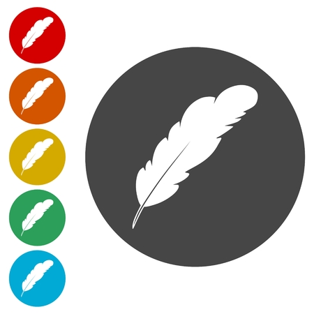 Feather sign set