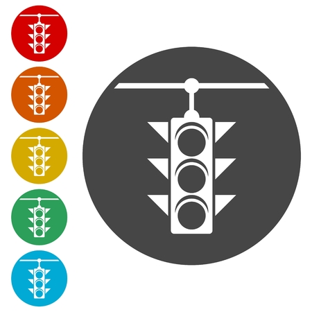 regulate: Traffic light icon