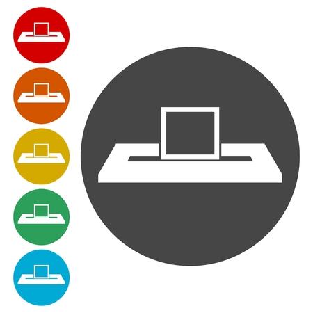Voting concept, Vote concept icon Illustration