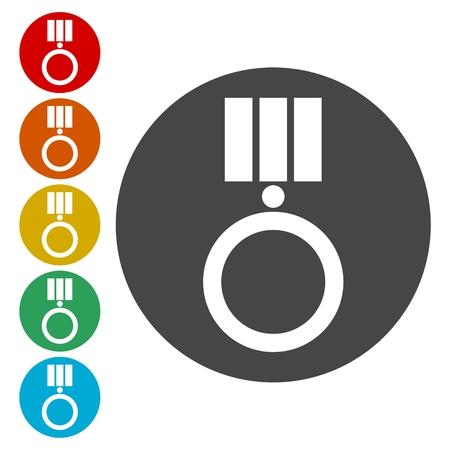 orden: Order star Icon Vector, Vector Award icon Illustration