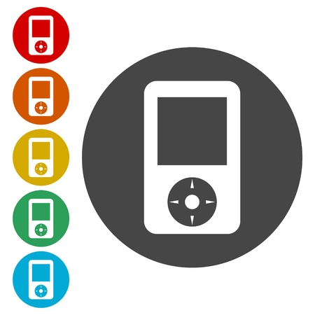electronic music: Portable media player, MP3 Player icon