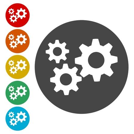 machinery: Gear Icon, Gear logo