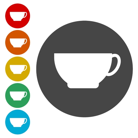 Coffee cup icon Фото со стока - 82792223