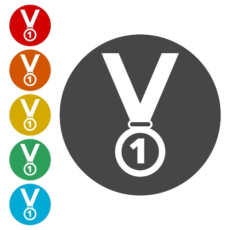 Medal icon Illustration
