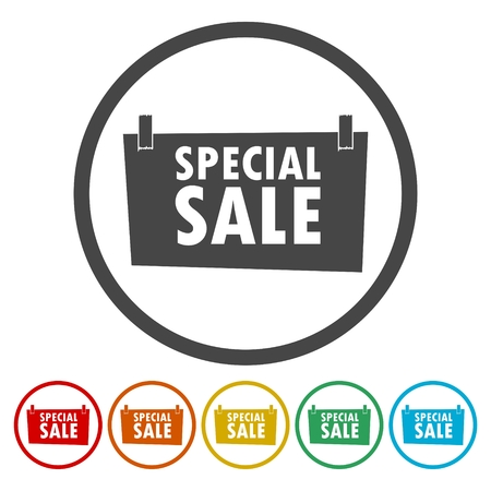 Special Sale Sign - illustration