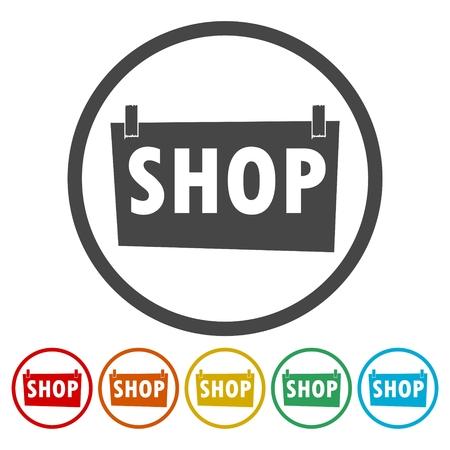 Shop Sign illustration