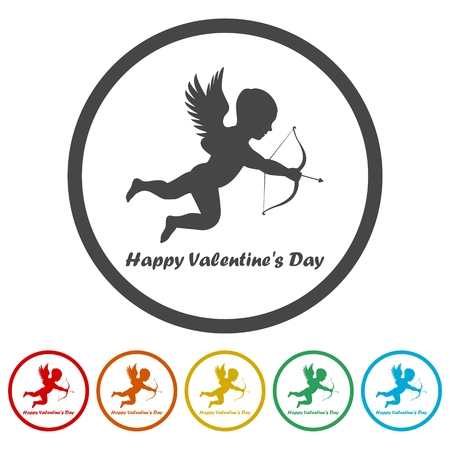 Valentines day holiday illustration