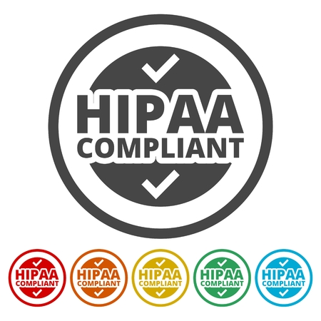 HIPAA - 건강 보험 이식성 및 책임 성 (Iconability Act) 아이콘이 설정 됨