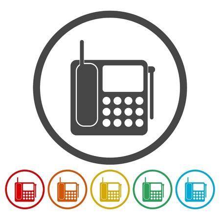 smartphone: Phone icons set.