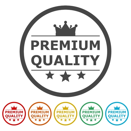seal of approval: Premium quality icon Vector illustration.