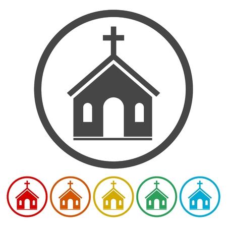Icona della Chiesa Archivio Fotografico - 87529264