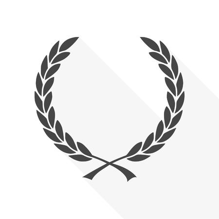 Vector Laurel Wreath - Illustration icon