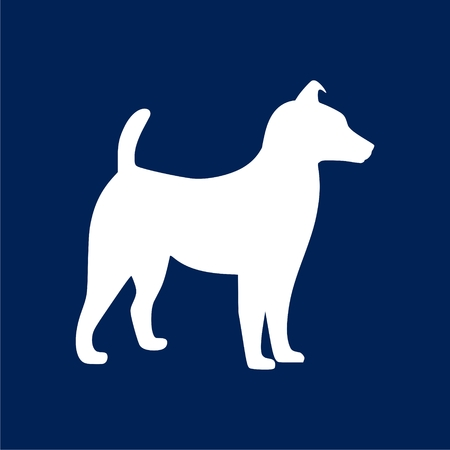 akita: Dog Icon - Illustration Illustration