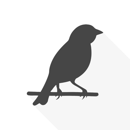 Birds icon - vector Illustration Illustration