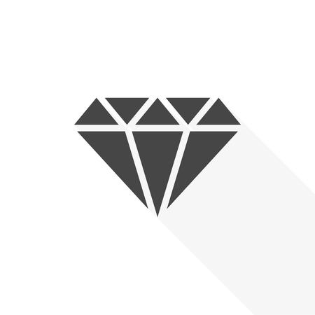 다이아몬드 아이콘 - 벡터 일러스트 레이션 일러스트