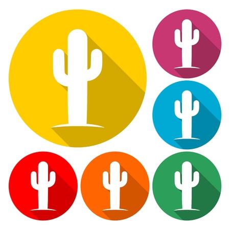 Cactus icon- Illustration Stock fotó - 90577311