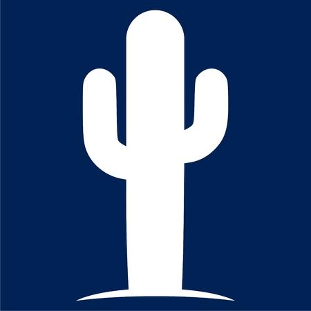 Cactus icon - Illustration Stock fotó - 90577315