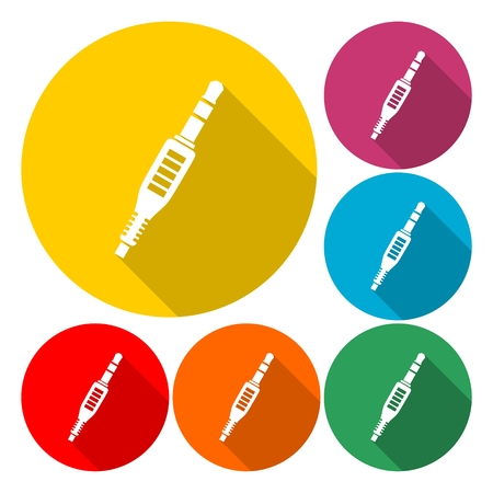 Audio Jack plug icon - Illustration Ilustrace