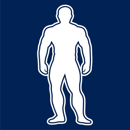 Strong man icon - vector Illustration 向量圖像