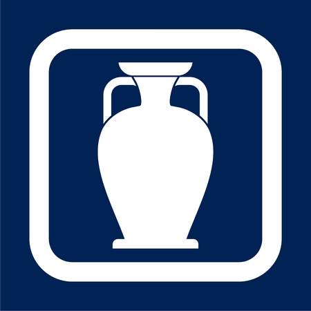 Vase icon vector Illustration