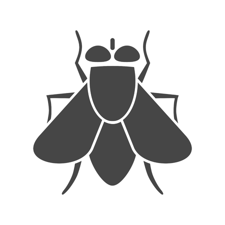 Fly icon  insect icon - Illustration